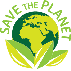 Save the Planet Logo Vector