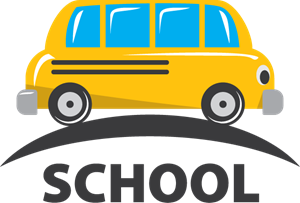 School Bus Logo Vector