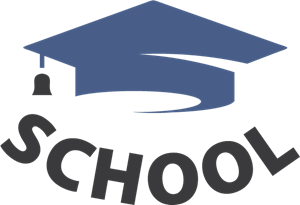 School Cap Logo Vector
