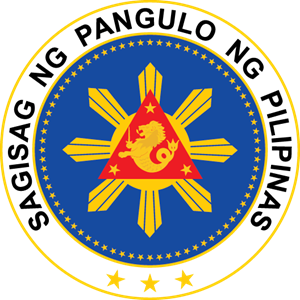 seal of the president of the philippines Logo Vector