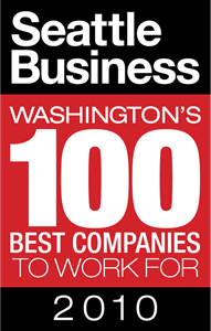 Seattle Business Washington's 100 Best Companies Logo Vector