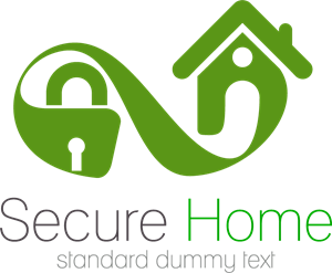 Secure Home Logo Vector