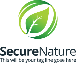 Secure Nature Logo Vector