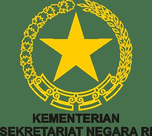 Hasil gambar untuk logo setneg