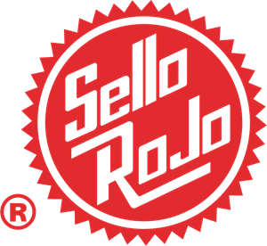 Sello Rojo Logo Vector