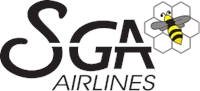 SGA airlines Logo Vector