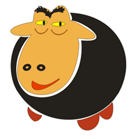 Shaun the Sheep Logo Vector