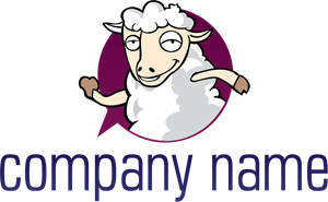 Sheep Company Logo Vector