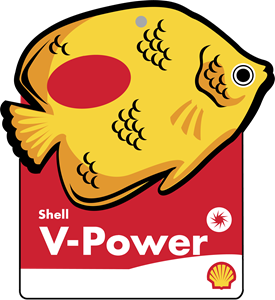 Shell V Power Logo Vector