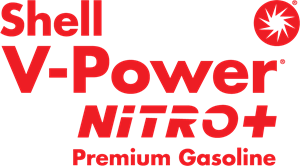 Shell V-Power NiTRO+ Premium Gasoline Logo Vector