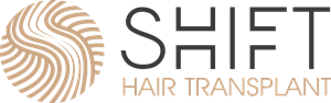 SHIFT Hair Transplant Logo Vector
