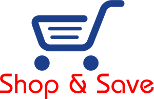 Shop and Save Logo Vector