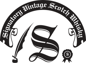 Signatory Vintage Scotch Whisky Logo Vector