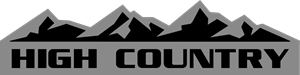 silverado high country Logo Vector
