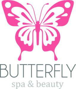 Simple butterfly Logo Vector