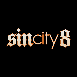 Sin City 8 Logo Vector