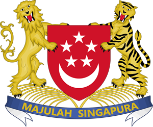 Singapore Seal / Emblem Logo Vector
