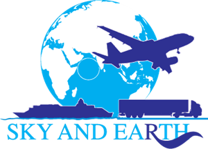 Sky and Earth Logo Vector