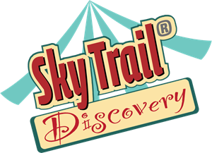Sky Trail Discovery Logo Vector