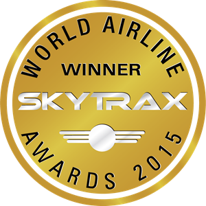 Skytrax World Airline Awards 2015 Winner Logo Vector
