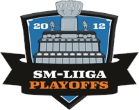 SM-liiga Playoffs 2012 Logo Vector