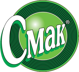 Smak juces Logo Vector