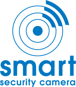 Smart Security Camera Logo Vector