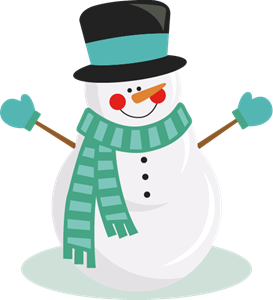 snow man Logo Vector