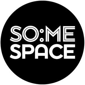 SO:ME Space Logo Vector
