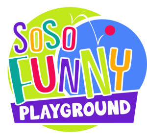 So So Funny Logo Vector