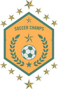 Soccer champs stars football club Logo Vector