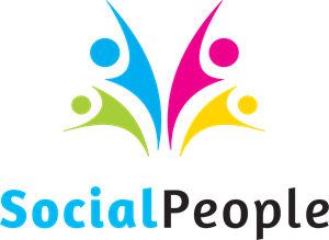 Social People Logo Vector