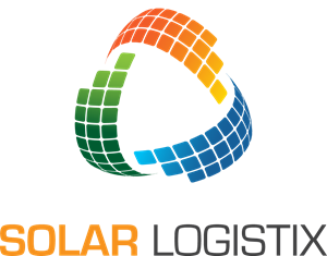 Solar energy logistics Logo Vector
