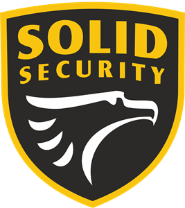 Solid Security Logo Vector