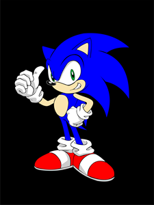 Sonic Logo Vector Cdr Free Download