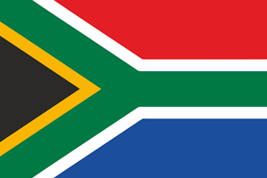 South Africa Flag Logo Vector