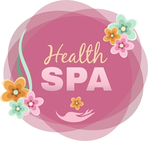 Spa Flowers Logo Vector