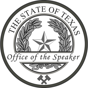 Speaker of the House of Texas Logo Vector