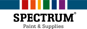 SPECTRUM Paint & Supplies Logo Vector