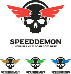 speed demon Logo Vector
