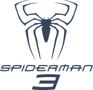 Spiderman 3 movie Logo Vector