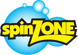 SpinZone Laundry Logo Vector