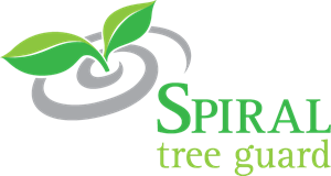 Spiral Tree Guard Logo Vector