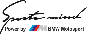 SPORT MIND BY BMW M MOTO SPORT Logo Vector