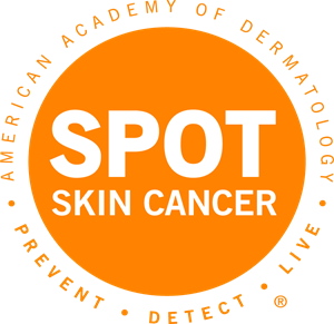 Spot Skin Cancer Logo Vector