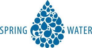 Spring Water Logo Vector