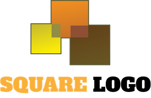 Square Shapes Logo Vector