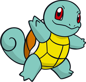 Squirtle Logo Vector