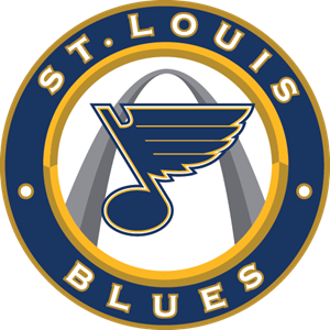 St Louis Blues Logo Vector