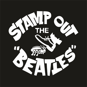 stamp out the beatles Logo Vector